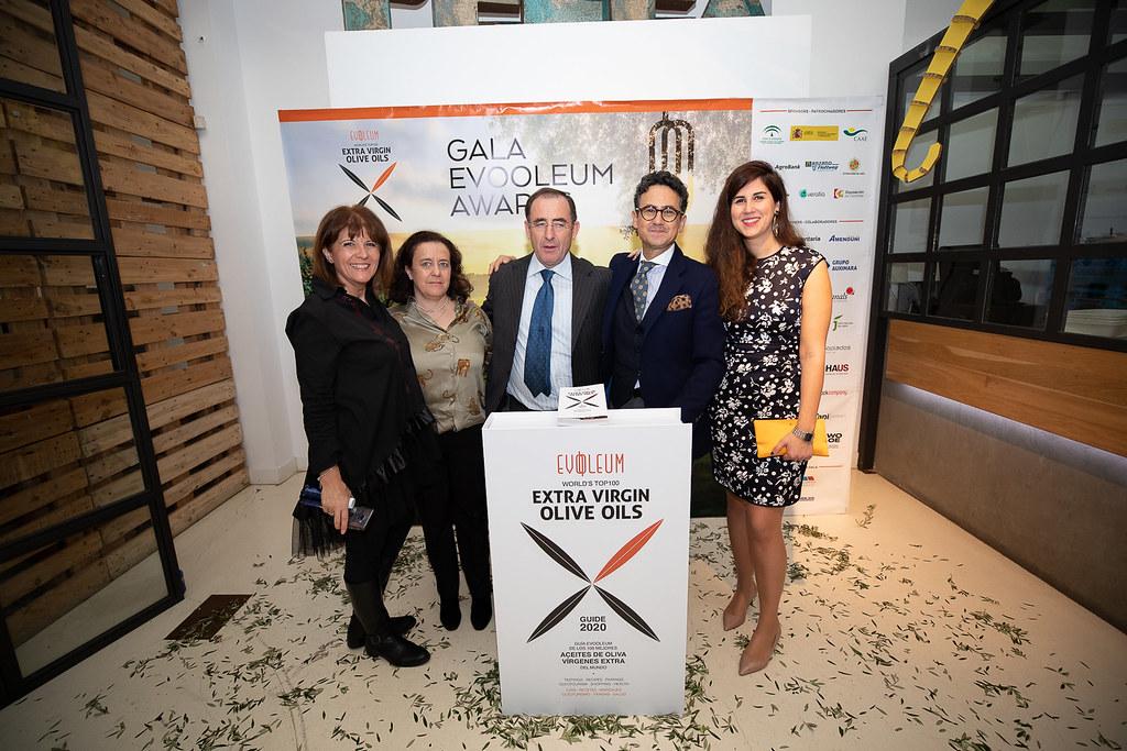 EVOOLEUM Awards Pastrana Ingeniería con equipo Mercacei