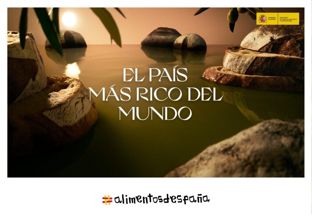 Campaña de publicidad El País Más Rico del Mundo Día Mundial del Olivo